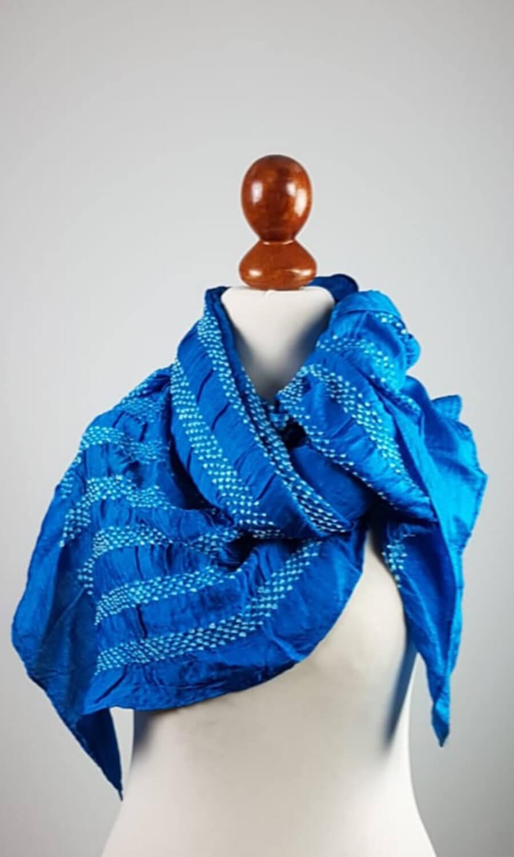 Tie Dye helles blau