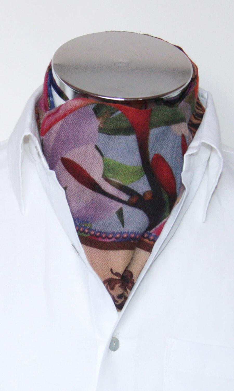 Krawattenschal bunt