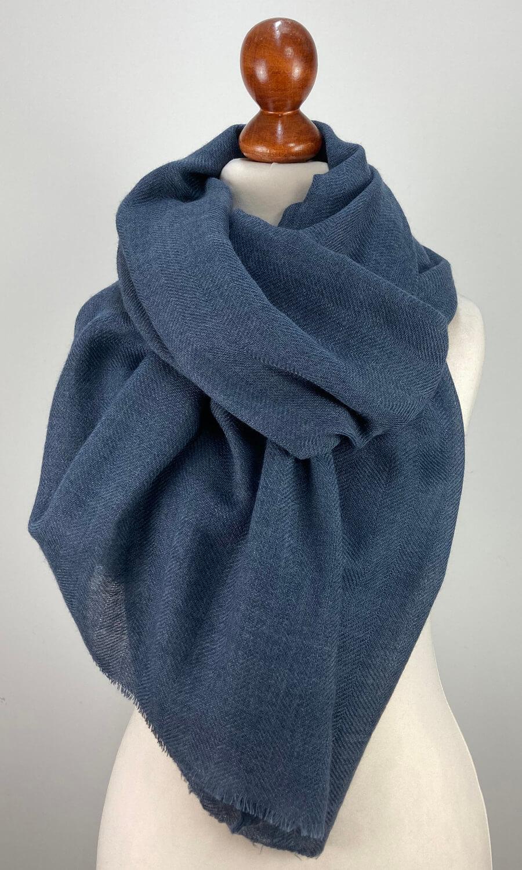 Cool Colour Kaschmir Stola blau
