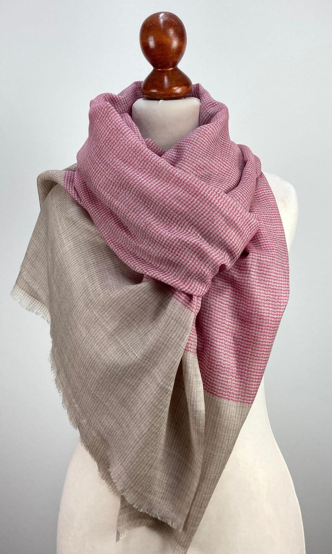 Classic Design Kaschmirschal - pink