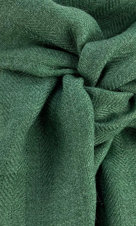 Cool Colour Kaschmir Schal waldgrün