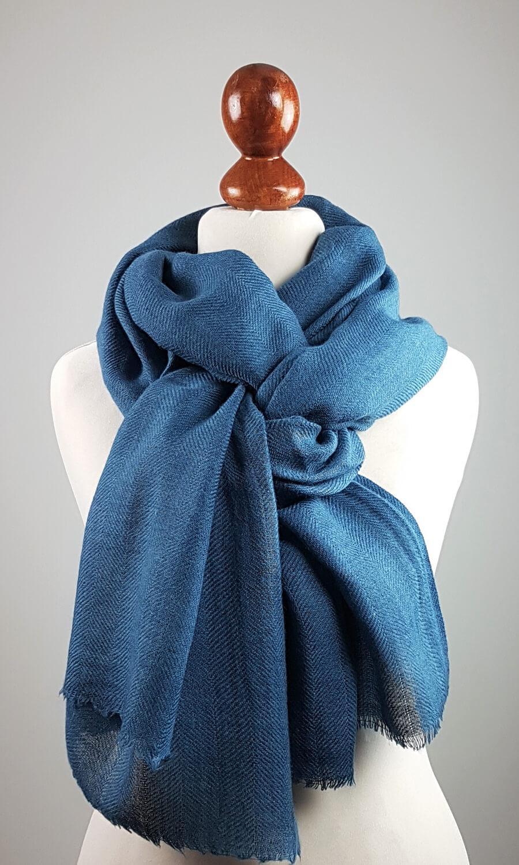 Cool Colour Kaschmir Stola  petrol- blau