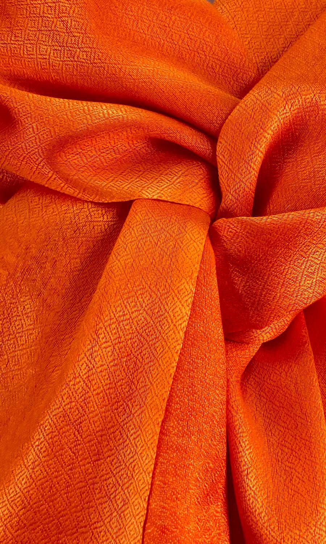 "Schal ""Orange Pearl"""