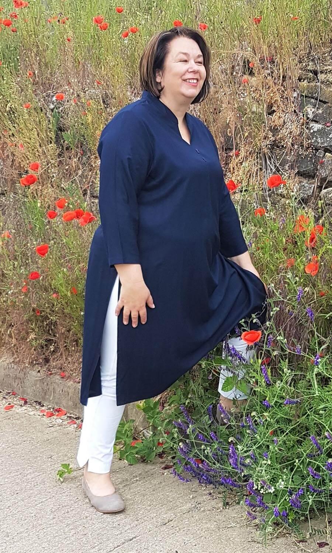 Damen Tunika dunkelblau