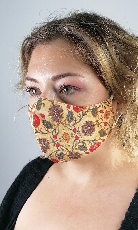 """Seiden Maske """"Artful"""""""
