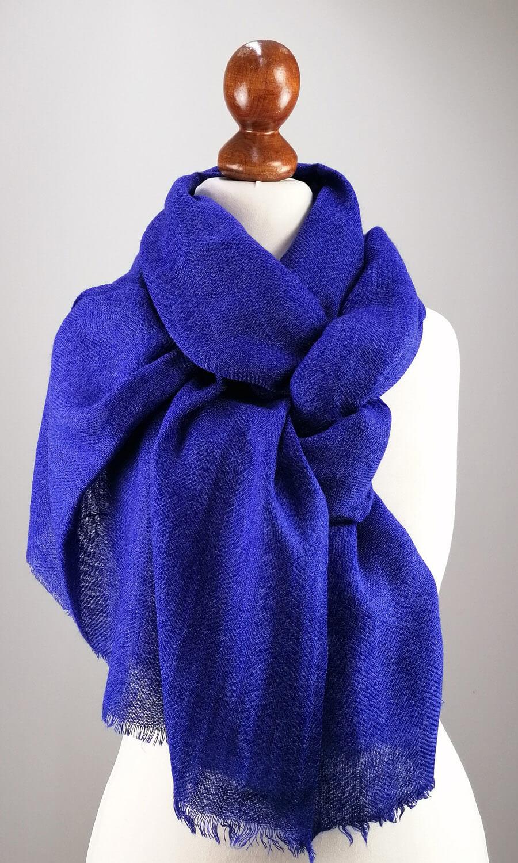 Cool Colour Kaschmir Stola royalblau