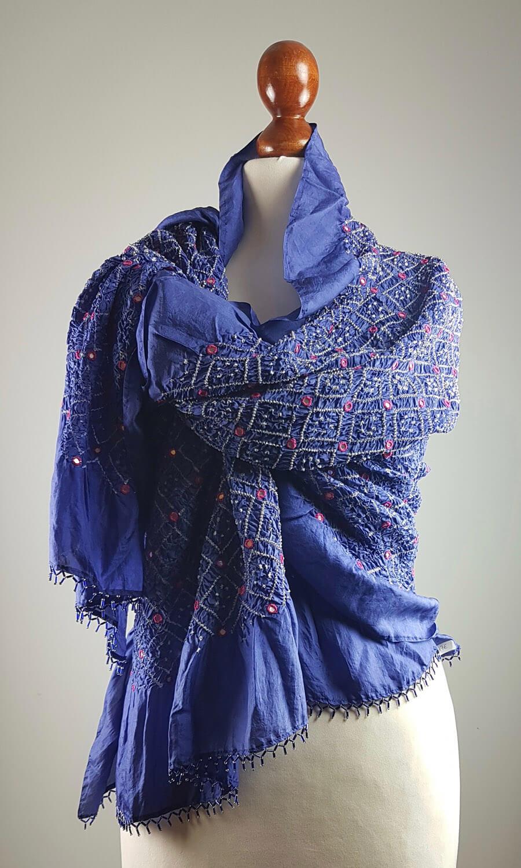 Tie Dye Mirror Blue