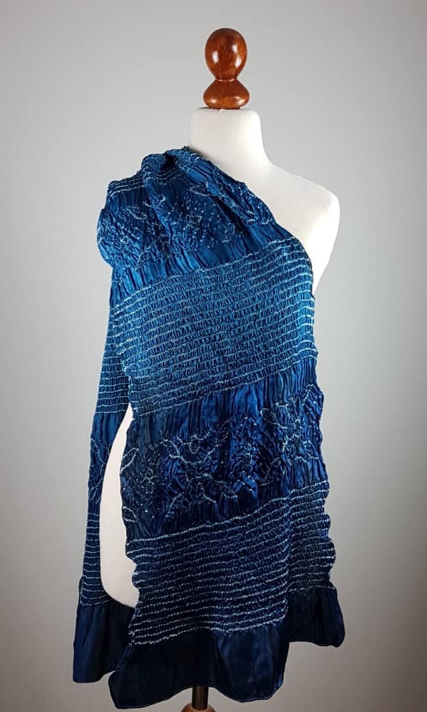 Tie Dye dunkelblau