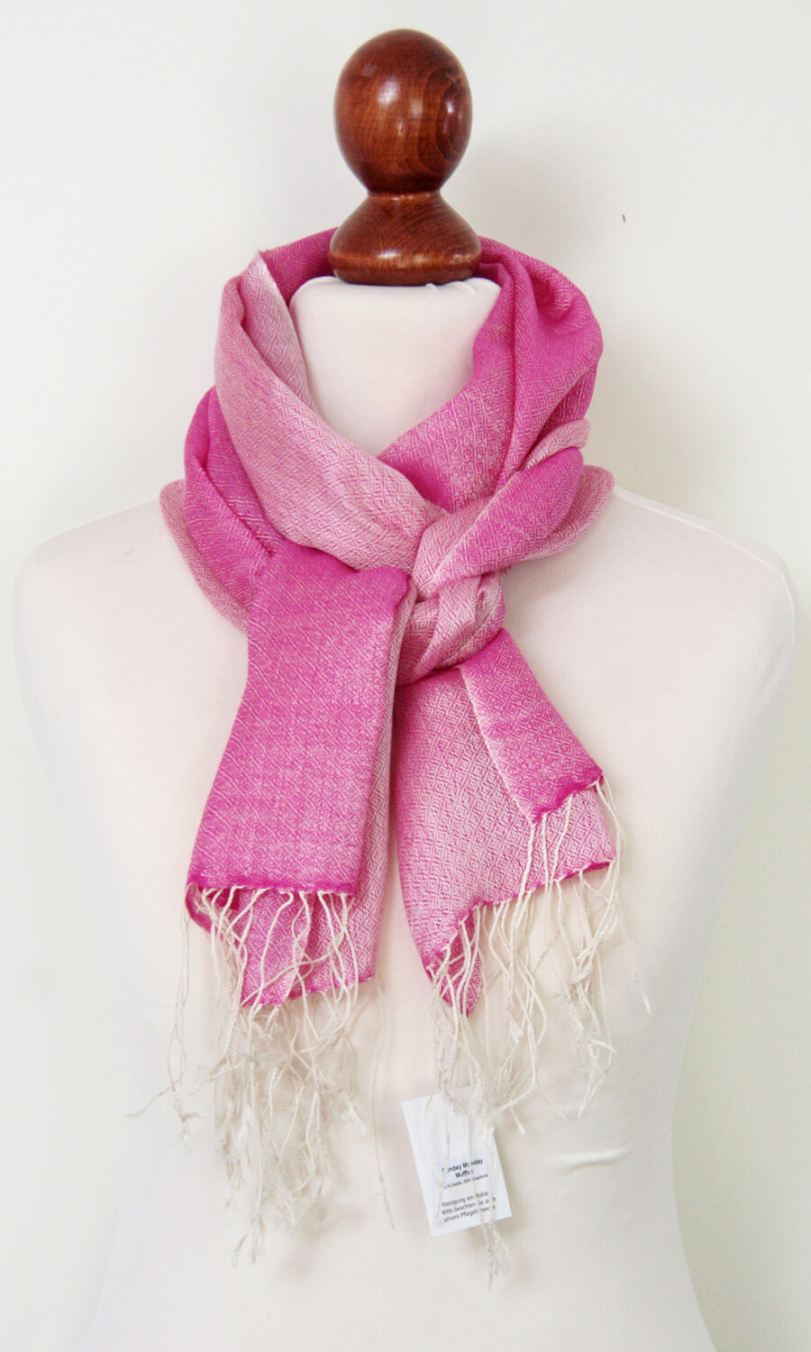 """Schal """"Pink - White Pearl"""""""