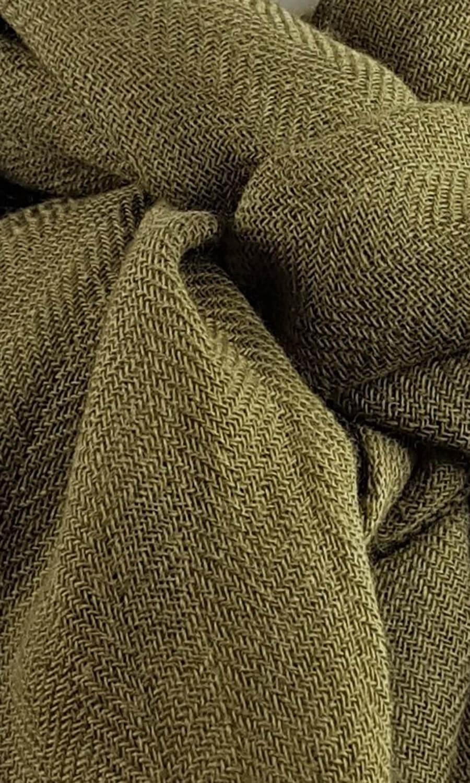 Cool Colour Kaschmir Schal dunkles oliv
