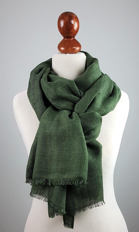 Cool Colour Kaschmir Stola waldgrün