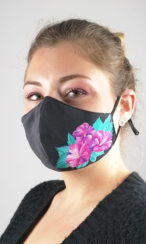 "Seidenmaske ""Floral Beauty"""