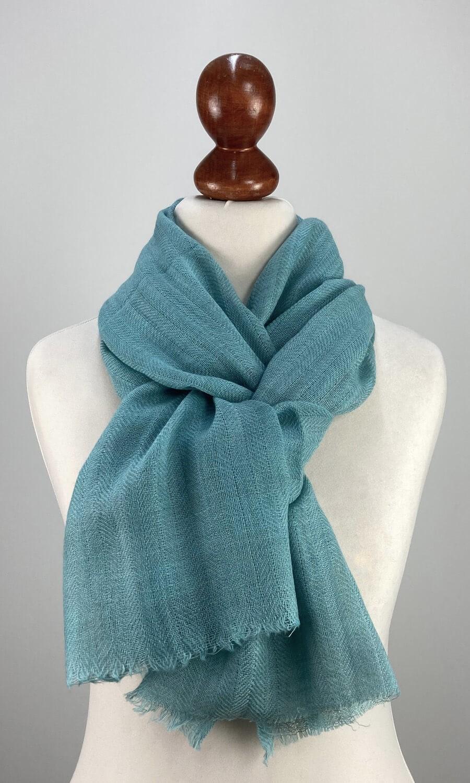 Cool Colour Kaschmir Schal leichtes blau