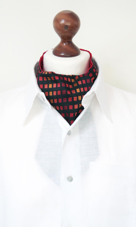 Krawattenschal rot-gelb-schwarz