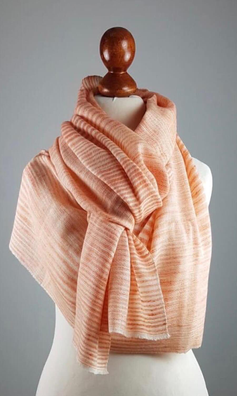 Pashmina Lady Orange - Das Juwel unter den Schals