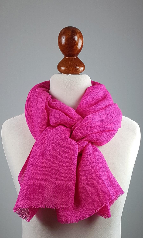 Cool Colour Kaschmir Schal  pink