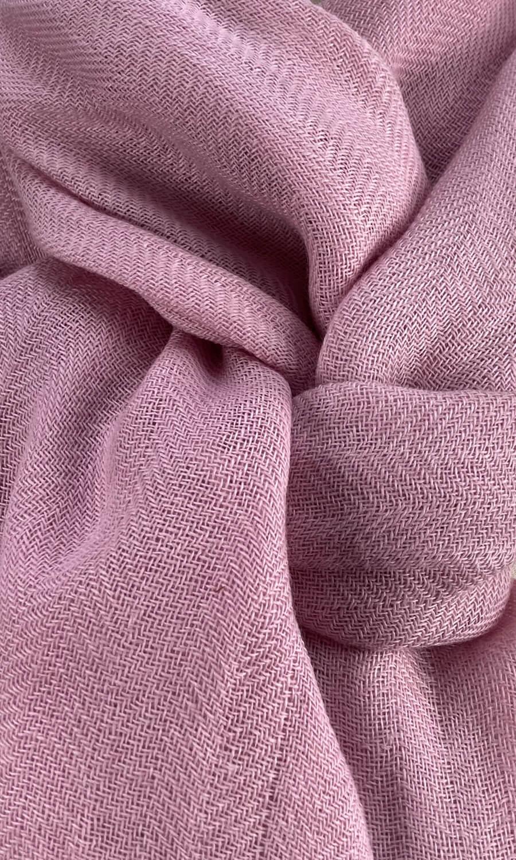 Cool Colour Kaschmir Schal rosé