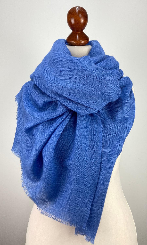 Cool Colour Kaschmir Stola helles blau